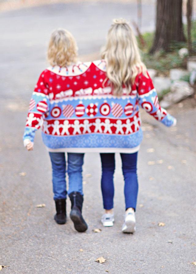 TOMS Target Together Sweater - back