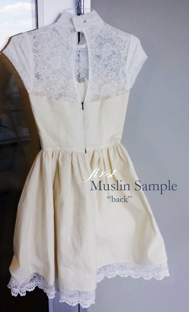 The Shelby Dress_muslin sample