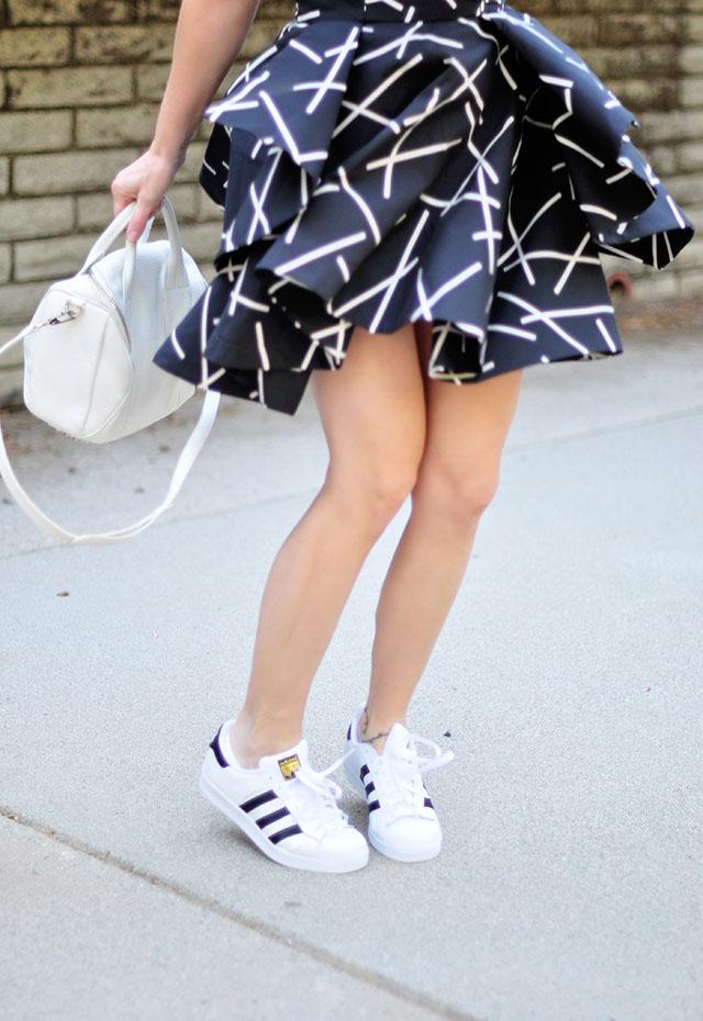 adidas 3 stripe superstars_dress_alexander wang rockie bag