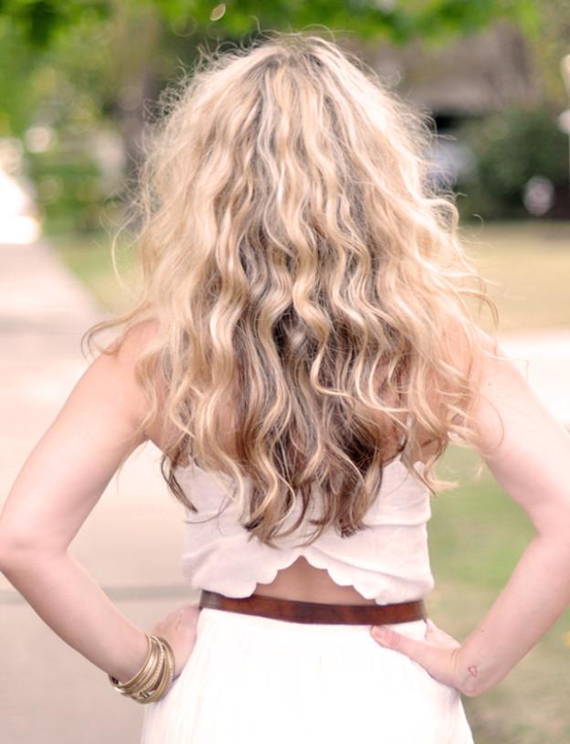 big waves with no heat_SJP hair