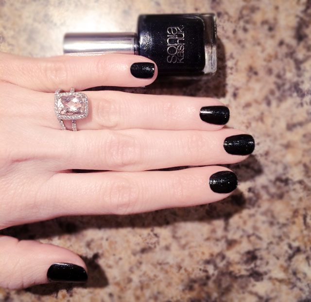 Nails | Black & Rose Gold Manicure Inspired by The Nike+ ...