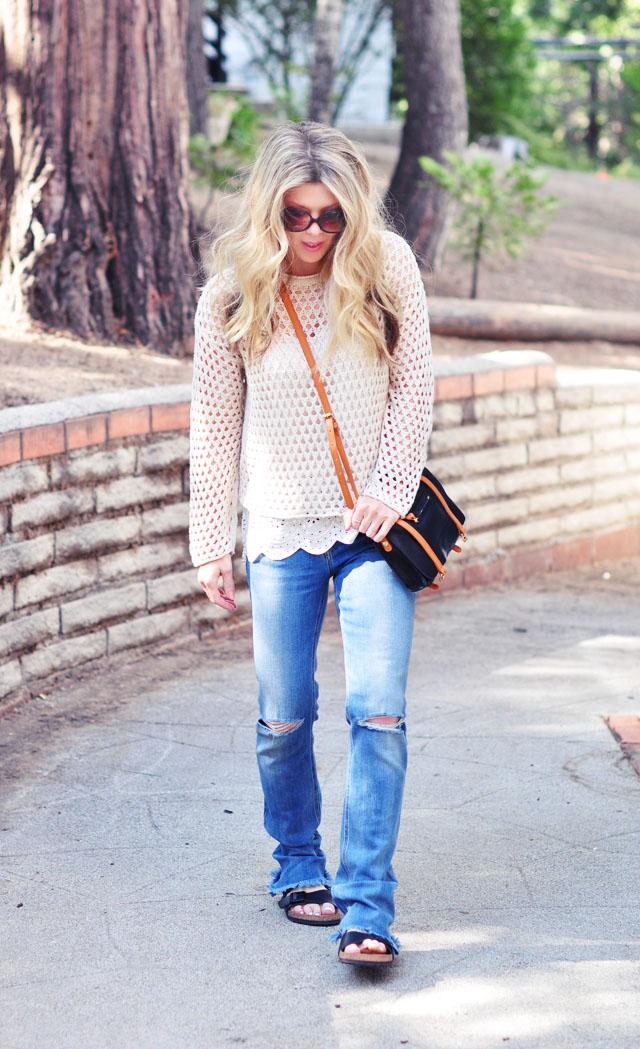 bohemian jeans -  casual weekend look