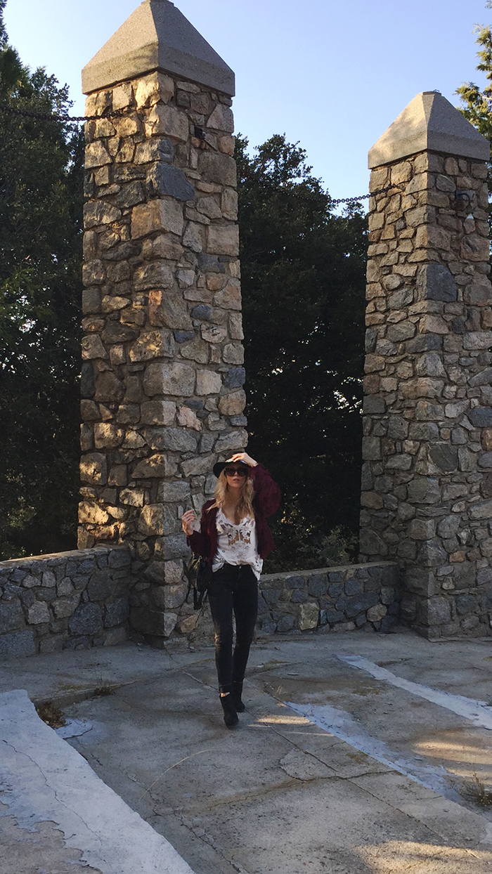 boho style-pillars of god-temple in crestline-ca mountains-love maegan