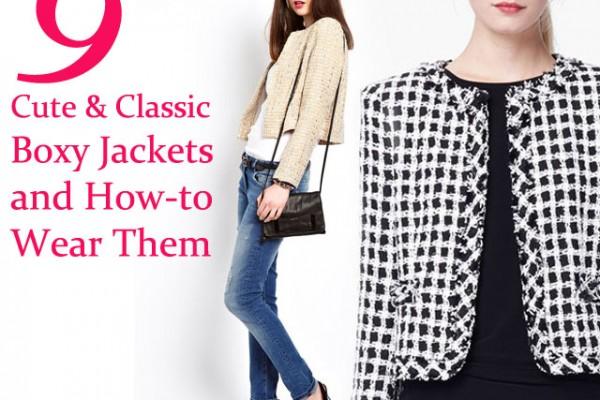 boxy jackets