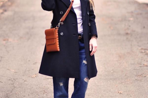 boyfrien jeans  - leopard flats