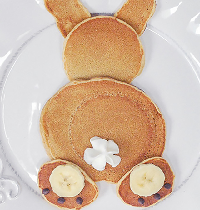 bunny pancakes for easter_1