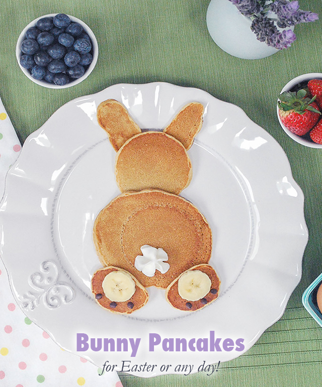 bunny pancakes for easter_3