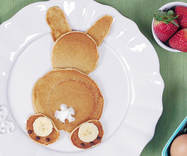 bunny pancakes for easter_5