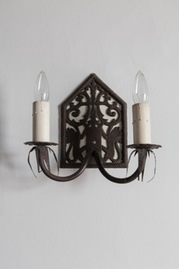 candelabra wall sconce