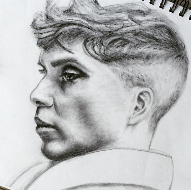 cillian murphy drawing sketch