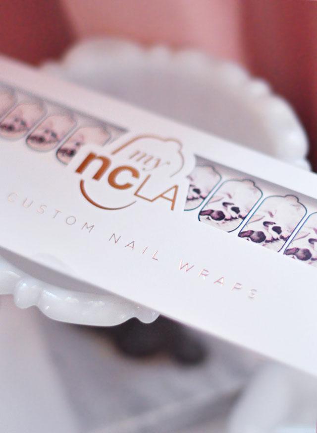 custom nail wraps by ncla-