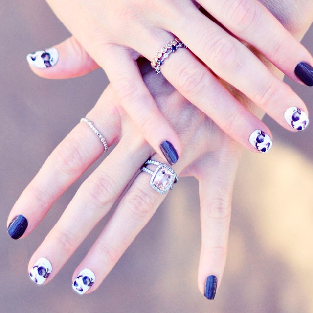 custom nail wraps manicure