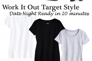 Work It Out #TargetStyle // 20 Mins to a Dinner Date #OOTD