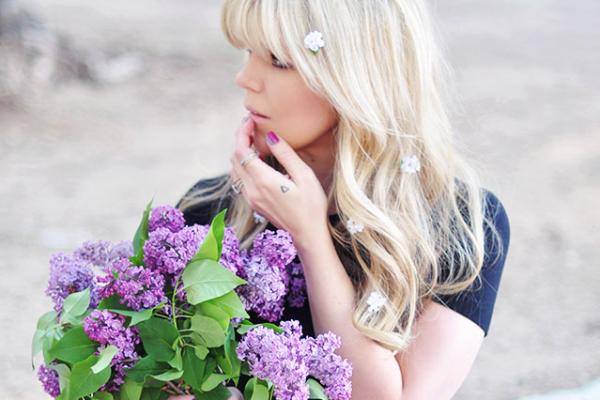 diy hair flowers