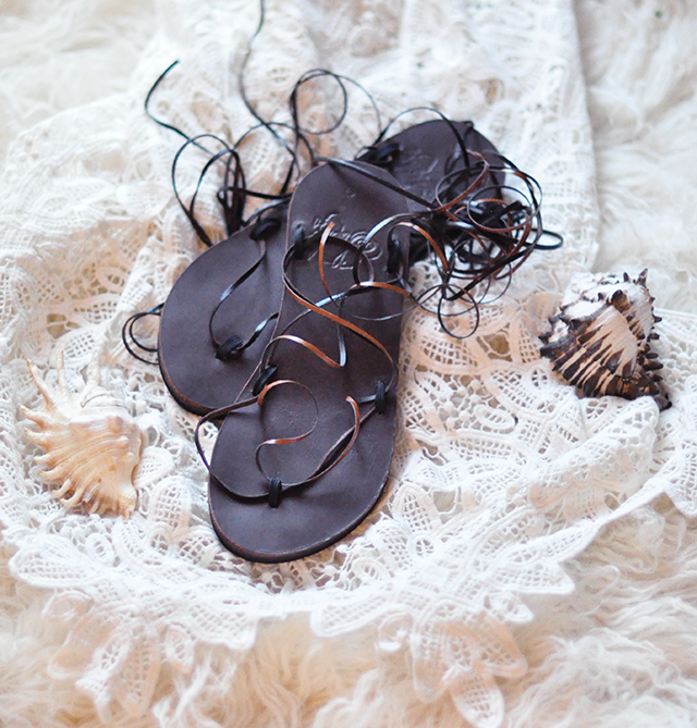 easy diy shoes _lace up gladiator sandals