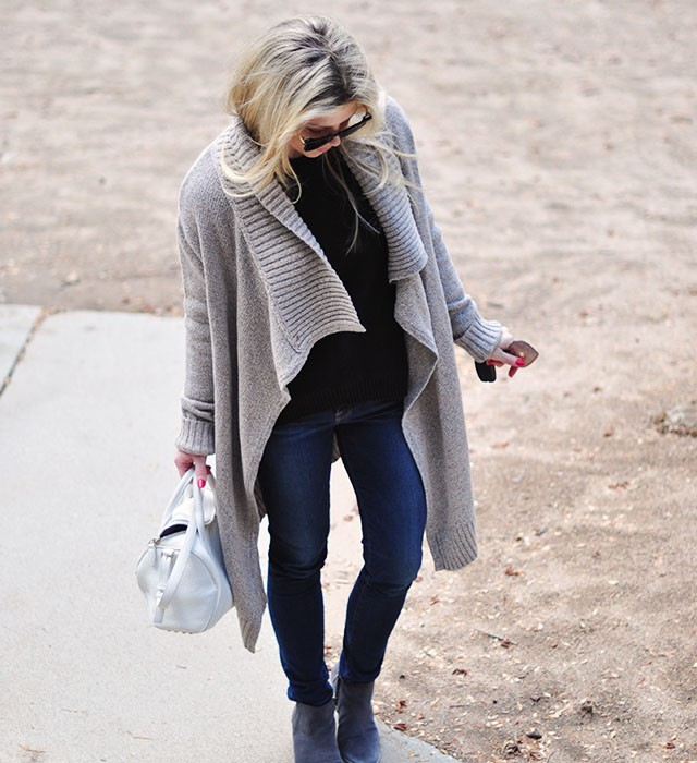 easy skinny jeans and boots