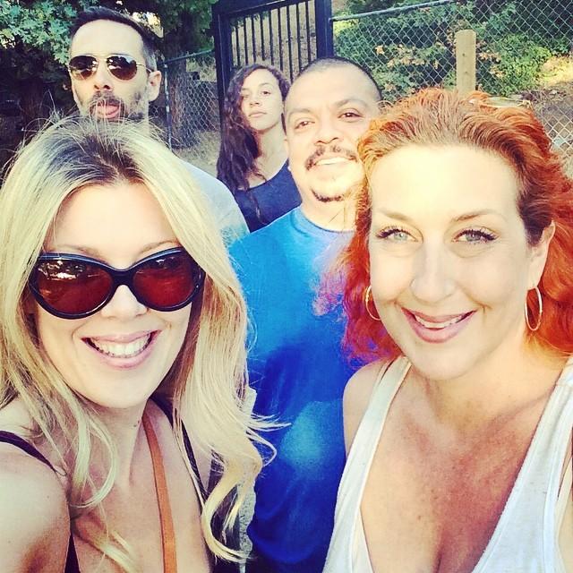 family fun weekend selfie