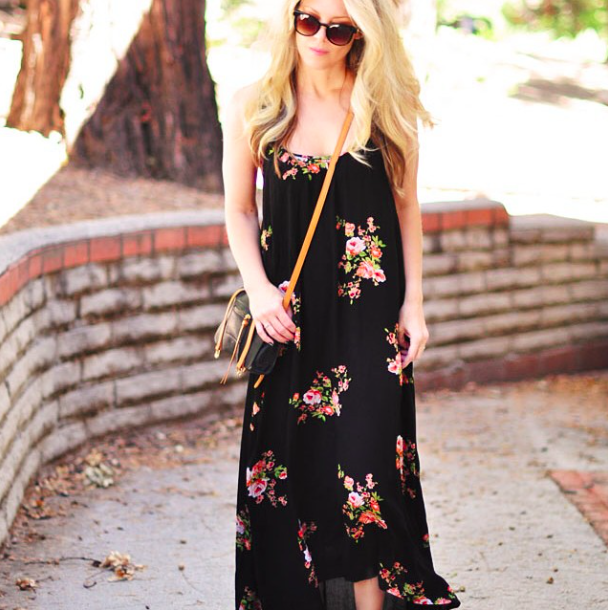 favorite floral maxi dress