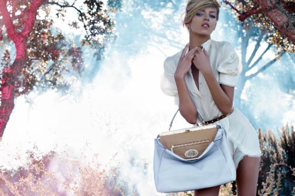 fendi spring 2010 ad campaign bag