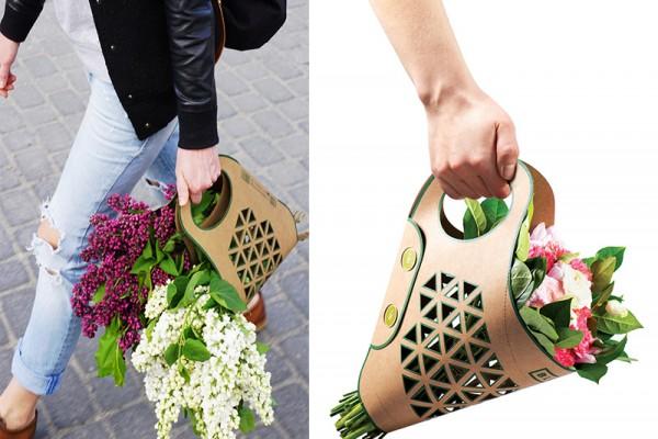 Bluma flower carrier by Adam Groch Designs