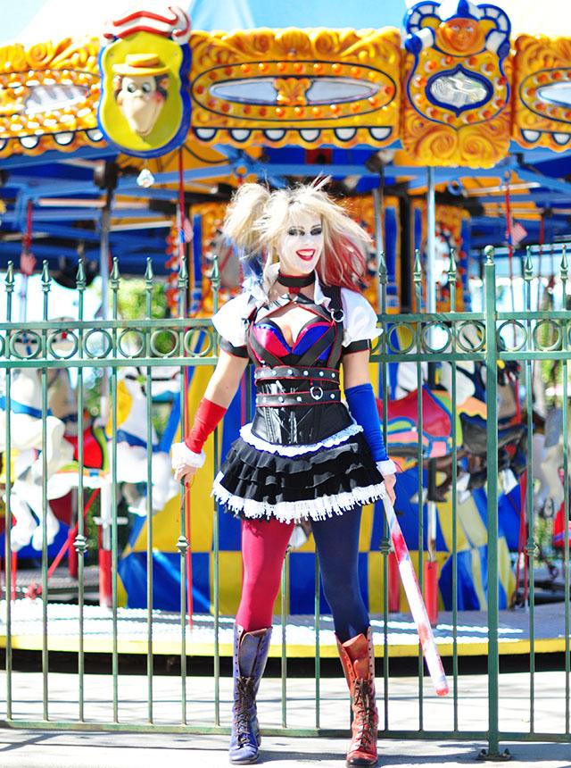 harley quinn costume - carousel -