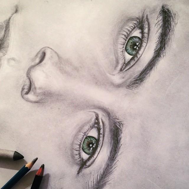 Harry Styles Eye Drawing Harry Styles Eyes Art Sketch