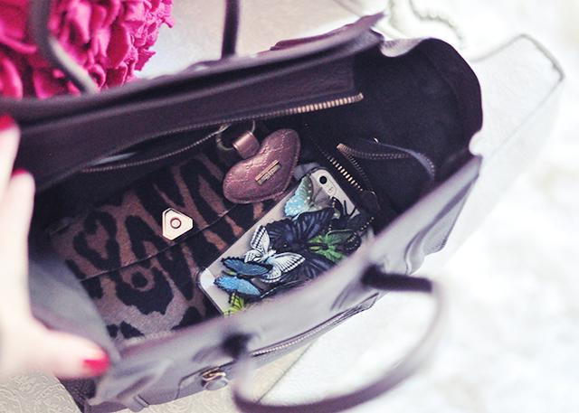 inside my handbag