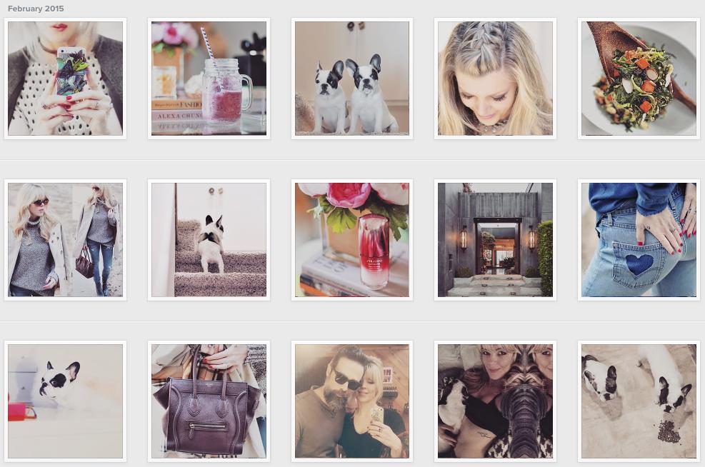 instagram weekly photos