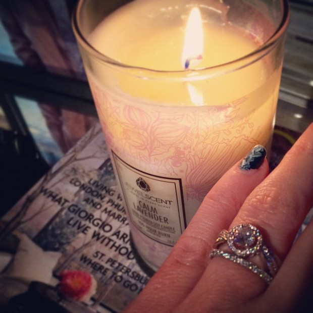 jewelscent candle ring