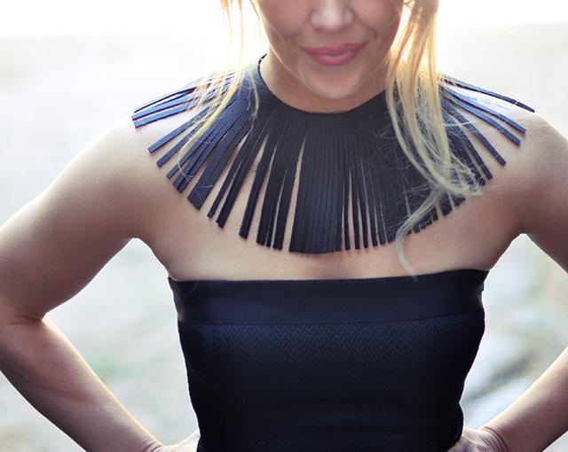 leather-fringe-collar-necklace