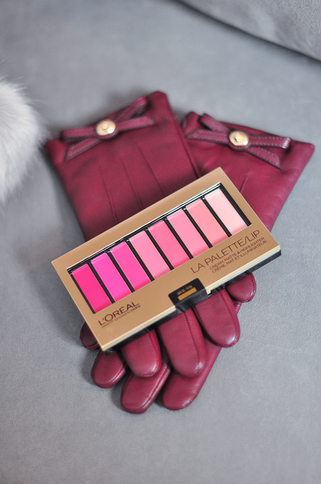 leather-gloves_loreal-lip-palette