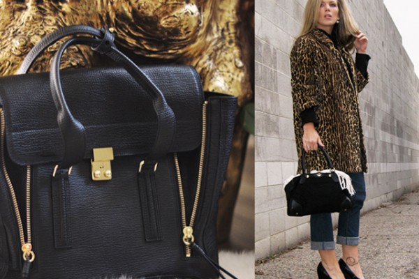 leopard coat-phillip lim bag