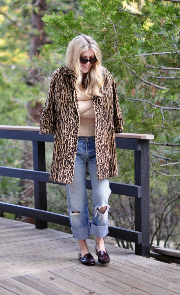 levis leopard loafers-1