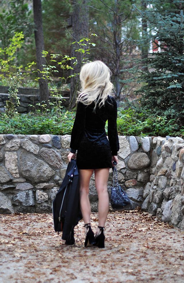 little-black-crushed-velvet-dress