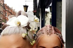 Orchids & Braid Rings: Unconventional Hair Accessories FTW