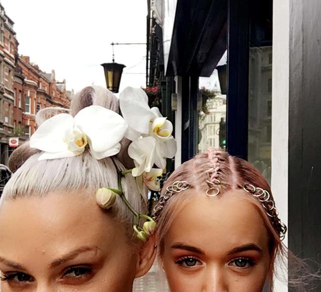 lou teasdale_living orchid hair ornament-5