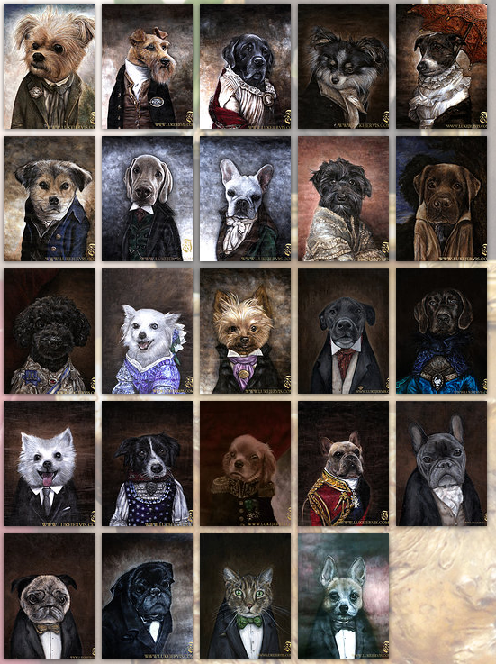 luke jervis custom pet portraits