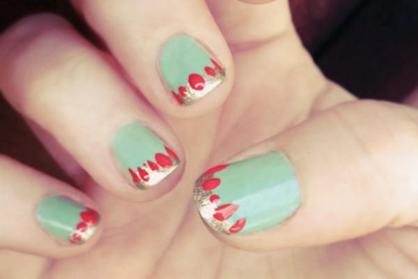 mid-century modern nails
