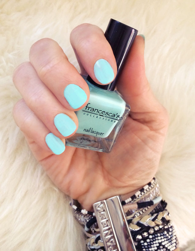 Easy Bohemian Mint NAILS with Teal Accents | ...love Maegan