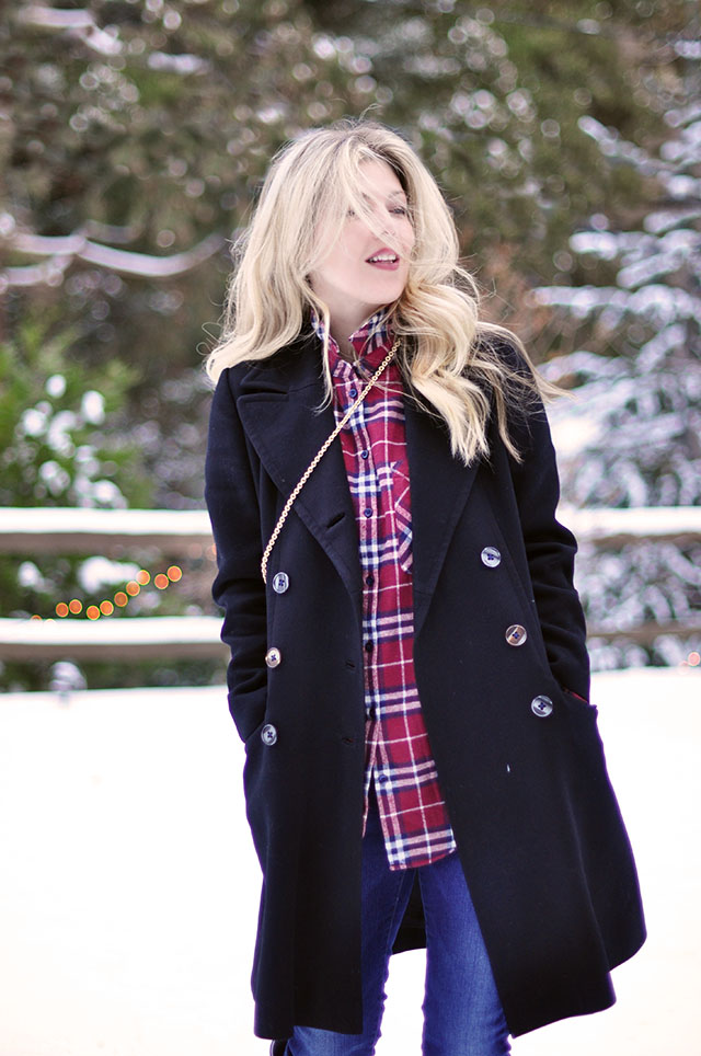 ootd in the snow-winter outfit