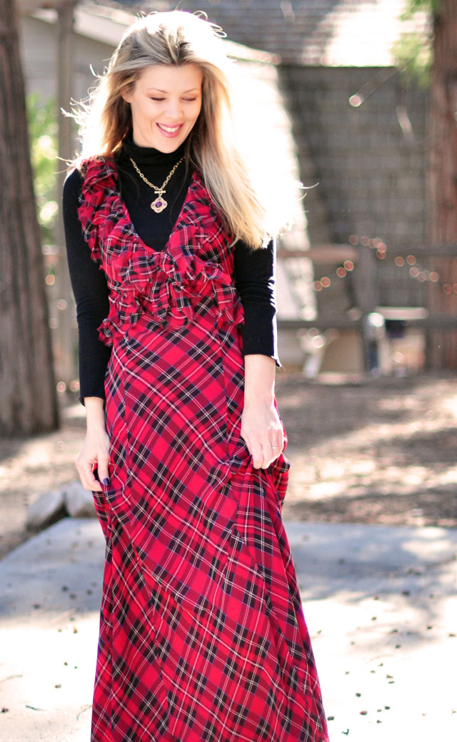 Image result for maxi dress with turtleneck