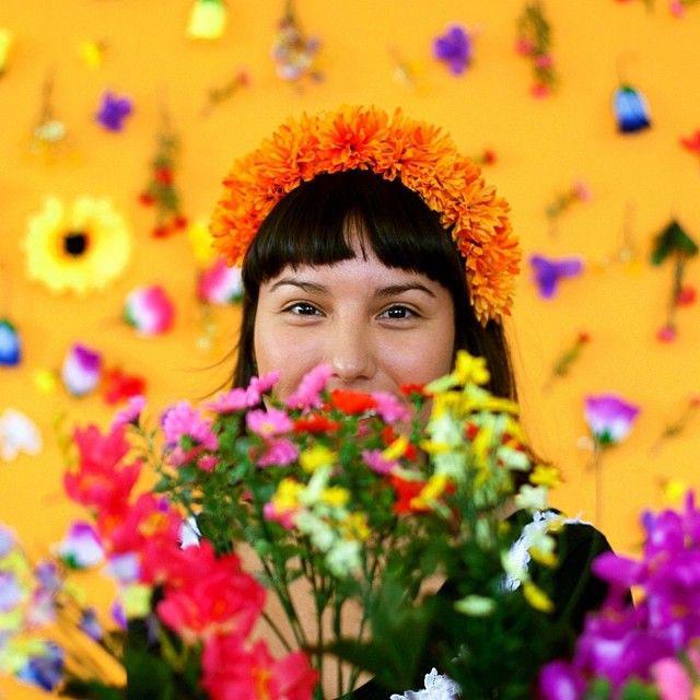 pretty flowers-cinco de mayo party