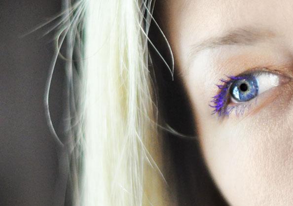 purple mascara review