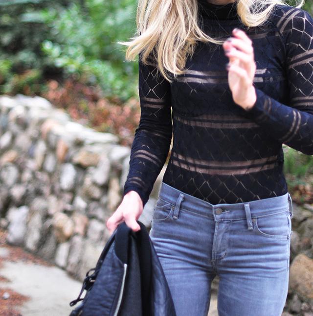 sheer turtleneck bodysuit_grey jeans