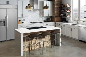 Sleek Signature Kitchen Suite Luxury Brand at Dwell on Design LA