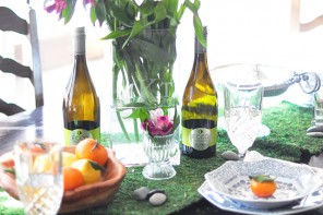 My Spring Tablescape w/ Desserts & Wine, of Course!