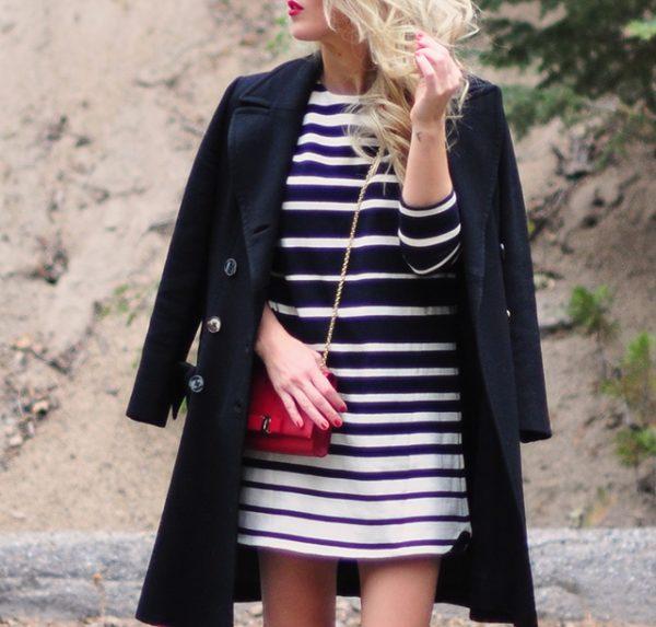 striped-shift-dress_military-jacket