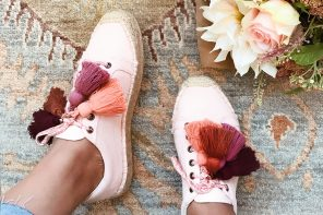 Put a Tassel on It // 5 Tassel Shoe DIYs via Honestly WTF