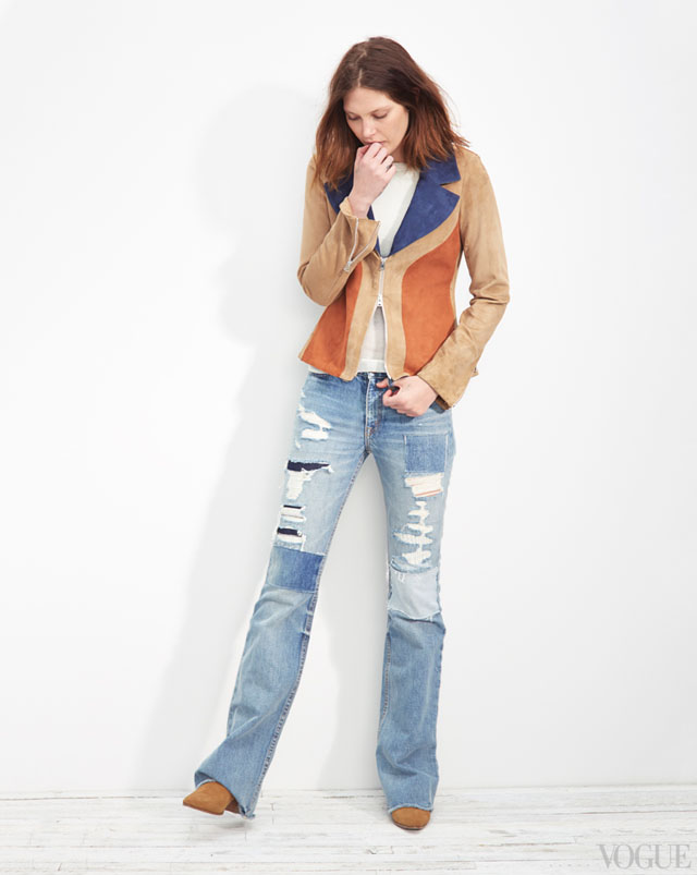 the new denim - 70s inspired