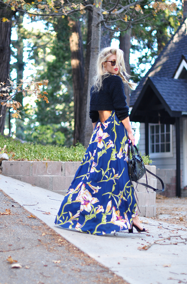 tropical-maxi-dress-with-open-back-cropped-sweater-for-fall